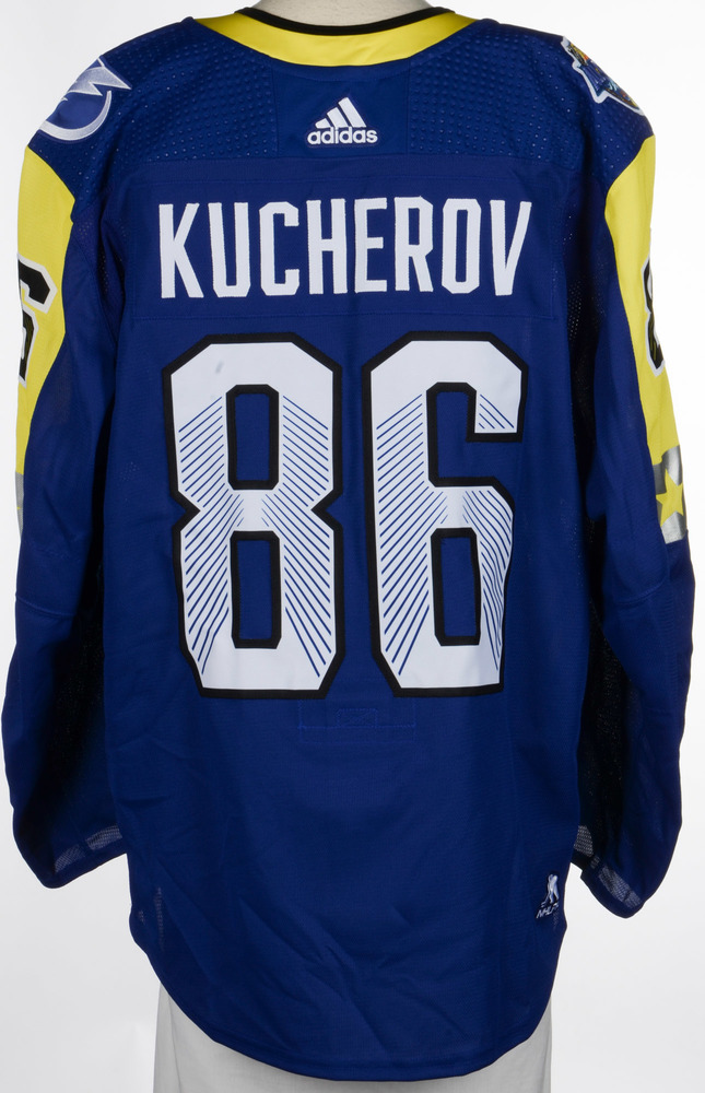 Nikita Kucherov Tampa Bay Lightning Game-Used 2018 All-Star Game Jersey