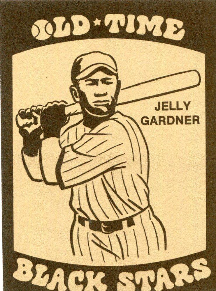 1974 Laughlin Old Time Black Stars #7 Floyd(Jelly) Gardner