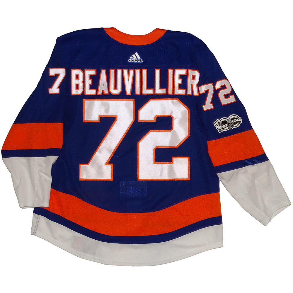 Anthony Beauvillier - Game Worn Home Jersey - 2017-18 Season - New York Islanders