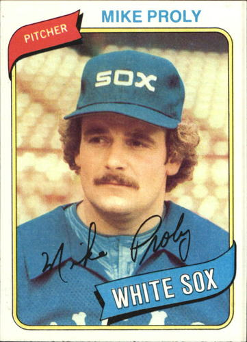 Photo of 1980 Topps #399 Mike Proly DP