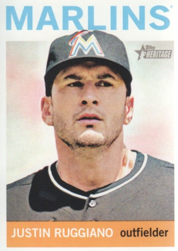 Photo of 2013 Topps Heritage #268 Justin Ruggiano