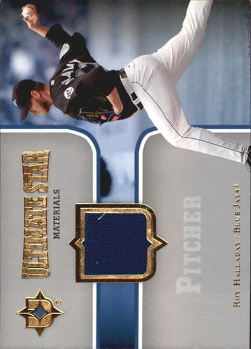 Photo of 2007 Ultimate Collection Ultimate Star Materials #HA Roy Halladay
