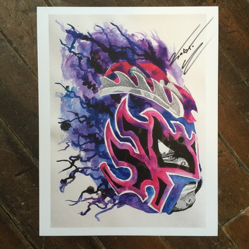 "Photo of Kalisto SIGNED 11"" x 14"" Rob Schamberger Print"