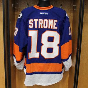Ryan Strome - Game Worn Home Jersey - 2015-16 Season - New York Islanders