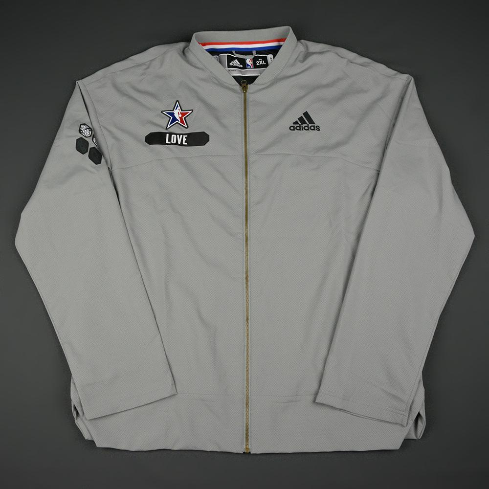 Kevin Love - 2017 NBA All-Star Eastern Conference - Game-Issued Warm-up Jacket