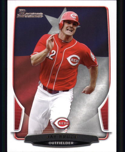Photo of 2013 Bowman Hometown #198 Jay Bruce -- Indians post-season