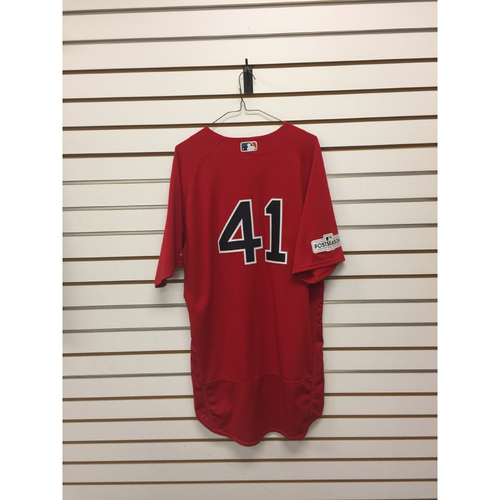 Photo of Chris Sale Team-Issued 2017 Home Alternate Jersey
