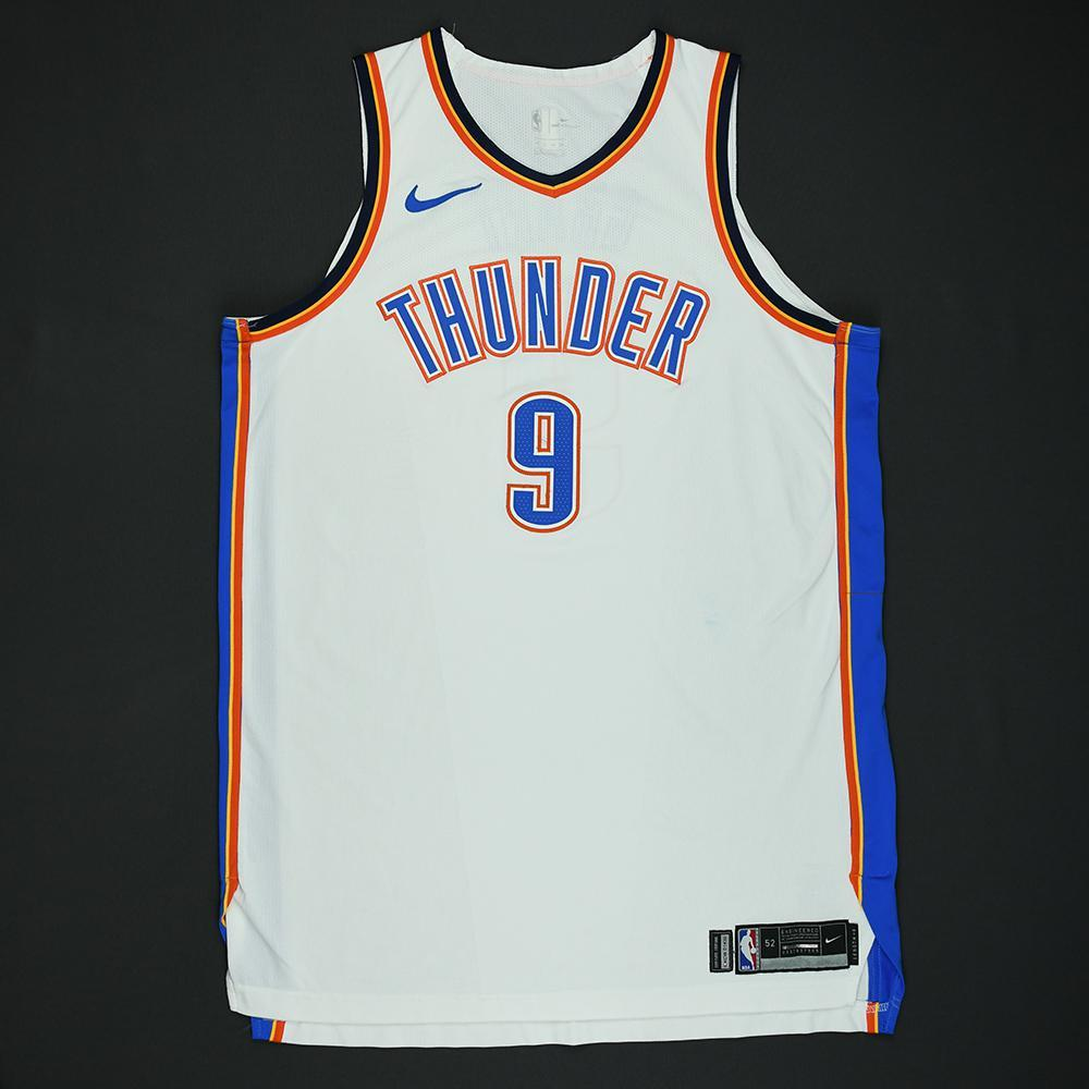 Jerami Grant - Oklahoma City Thunder - 2018 NBA Playoffs Game-Worn Jersey
