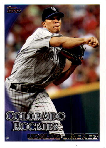 Photo of 2010 Topps #607 Ubaldo Jimenez