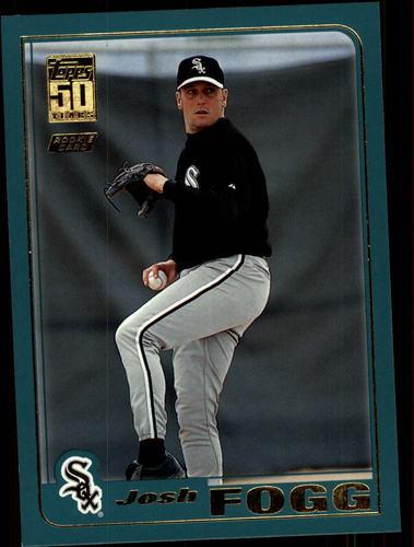 Photo of 2001 Topps Traded #T221 Josh Fogg RC