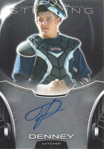 Photo of 2013 Bowman Sterling Prospect Autographs #JD Jon Denney