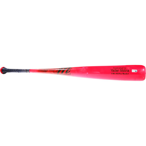 Photo of 2016 Mother's Day Pink Auction: Yadier Molina Game-Used Pink Mother's Day Bat