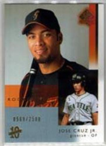 Photo of 2003 SP Authentic #103 Jose Cruz Jr. RA