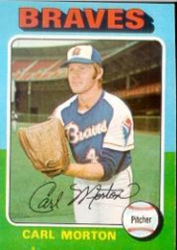 Photo of 1975 Topps #237 Carl Morton