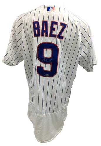 Javier Baez Autographed Jersey