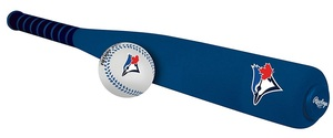 Toronto Blue Jays Foam Bat & Ball Set by Rawlings