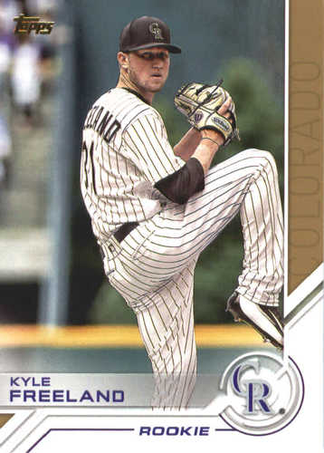Photo of 2017 Topps Update Salute #USS49 Kyle Freeland