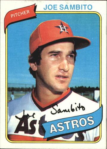 Photo of 1980 Topps #571 Joe Sambito