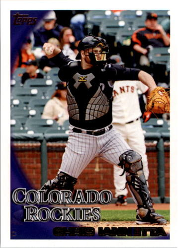 Photo of 2010 Topps #114 Chris Iannetta