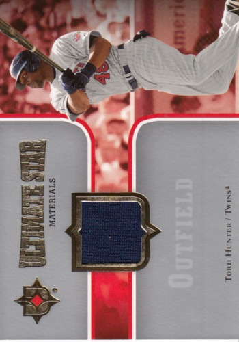 Photo of 2007 Ultimate Collection Ultimate Star Materials #HU Torii Hunter