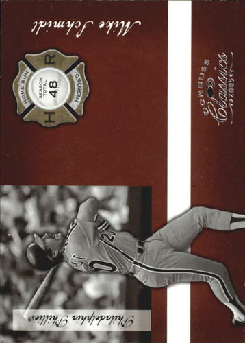 Photo of 2005 Donruss Classics Home Run Heroes #1 Mike Schmidt