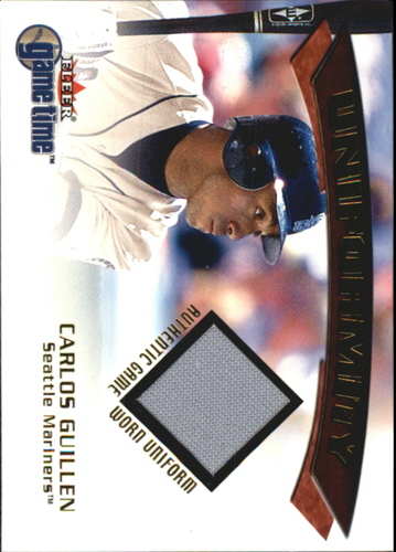 Photo of 2001 Fleer Game Time Uniformity #8 Carlos Guillen