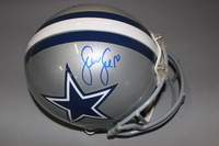 NFL - COWBOYS SEAN LEE SIGNED COWBOYS PROLINE HELMET (MINOR SCUFF MARKS ON HELMET AND SMALL GOUGE ON FACEMASK)