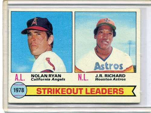 Photo of 1979 Topps #6 Strikeout Leaders/Nolan Ryan/J.R. Richard