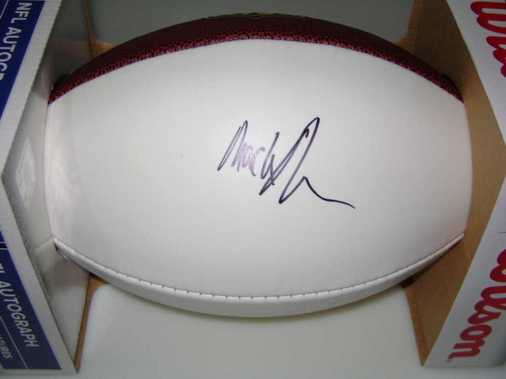 NFL - VIKINGS MACKENSIE ALEXANDER SIGNED PANEL BALL