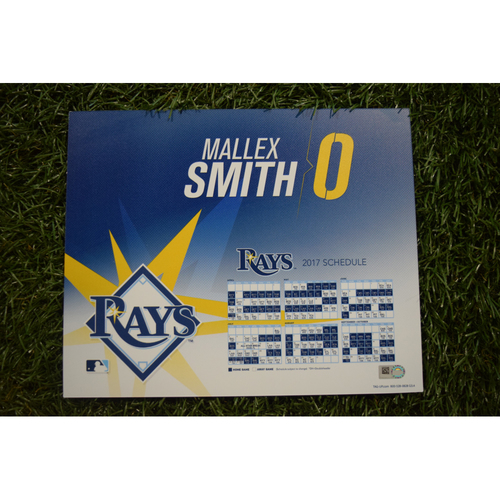2017 Team-Issued Locker Tag - Mallex Smith