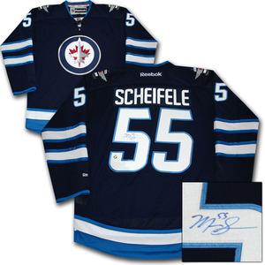 Mark Scheifele Autographed Winnipeg Jets Jersey