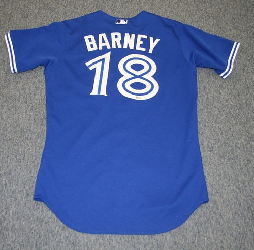 Photo of BLUE JAYS AUTHENTICS-2015 Darwin Barney Team Issued Jersey