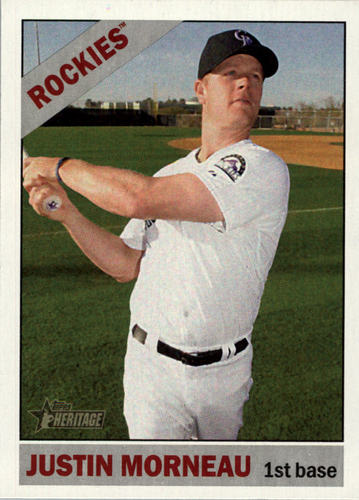 Photo of 2015 Topps Heritage #299 Justin Morneau