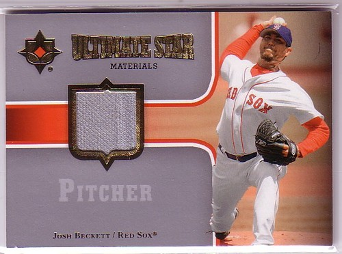 Photo of 2007 Ultimate Collection Ultimate Star Materials #JB Josh Beckett
