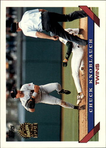 Photo of 1993 Topps Inaugural Marlins #250 Chuck Knoblauch