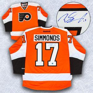 Wayne Simmonds Philadelphia Flyers Autographed Reebok Premier Hockey Jersey