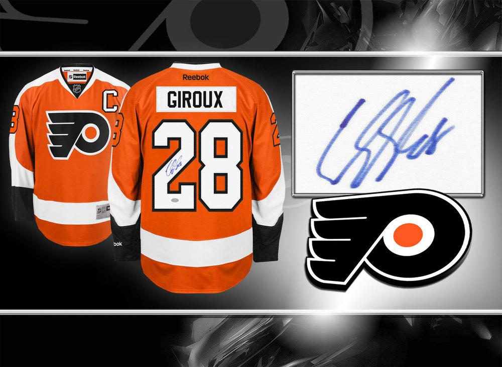 Claude Giroux Philadelphia Flyers Autographed Jersey