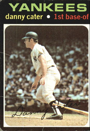 Photo of 1971 Topps #358 Danny Cater