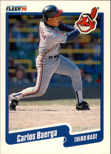 Photo of 1990 Fleer Update #90 Carlos Baerga RC
