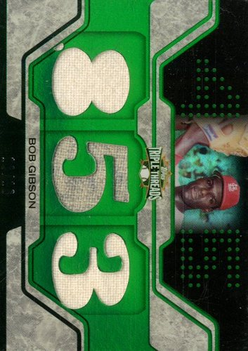Photo of 2008 Topps Triple Threads Relics Emerald #36 Bob Gibson