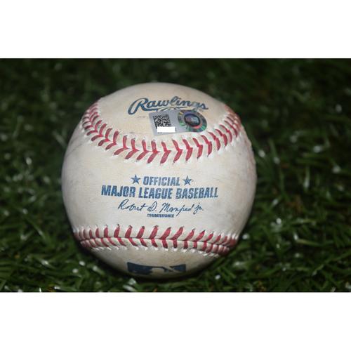 Photo of Game-Used Baseball: Evan Longoria Triple against Edwin Jackson