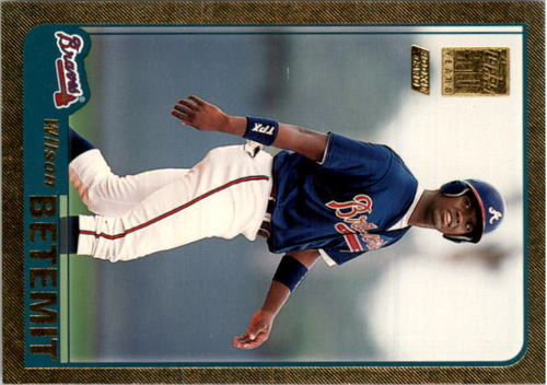 Photo of 2001 Topps Traded Gold #T213 Wilson Betemit