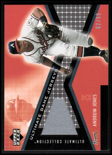Photo of 2002 Ultimate Collection Game Jersey Tier 2 #AJ Andruw Jones
