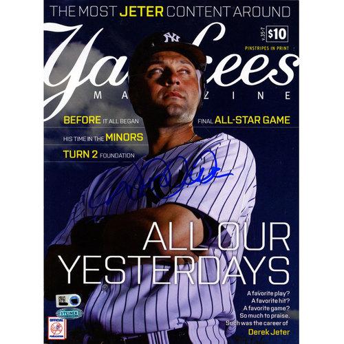Photo of Derek Jeter Signed Day Yankees Magazine September Issue (MLB Auth)