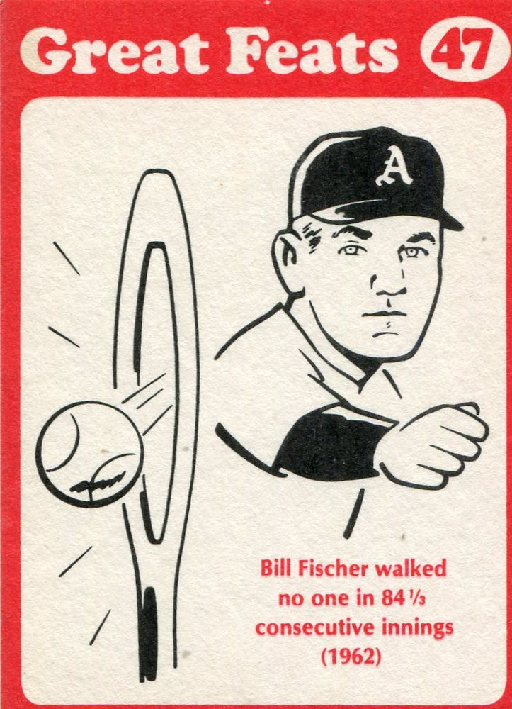 1972 Laughlin Great Feats #47 Bill Fischer