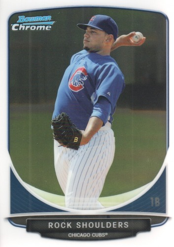 Photo of 2013 Bowman Chrome Prospects #BCP178A Rock Shoulders
