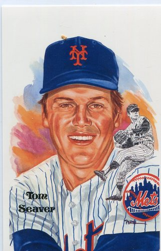 Photo of 1980-02 Perez-Steele Hall of Fame Postcards #215 Tom Seaver -- Set #08689