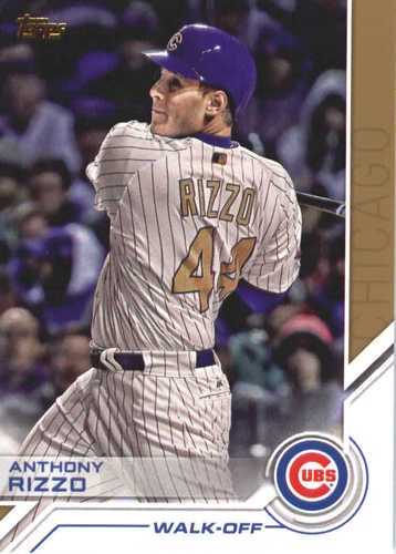 Photo of 2017 Topps Update Salute #USS50 Anthony Rizzo
