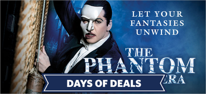 THE PHANTOM OF THE OPERA & MEET THE PHANTOM -PACKAGE 1 of 3