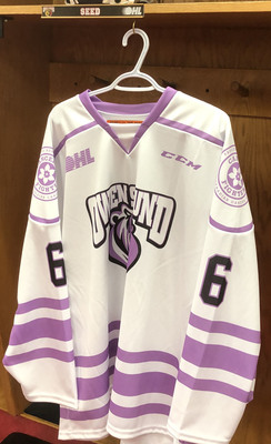 Nolan Seed Hockey Fights Cancer Jersey